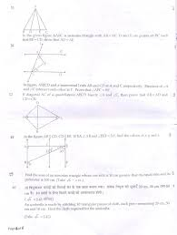 cbse class 09 sa1 question paper u2013 maths aglasem schools