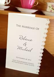 laser cut wedding programs 24 best church wedding booklet images on wedding