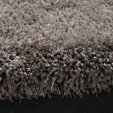 tappeto a pelo lungo tappeto grigio a pelo lungo 160 x 230 cm maisons du monde