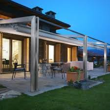 Retractable Porch Awnings Motorized Retractable Awnings Houston Sunesta Awnings The