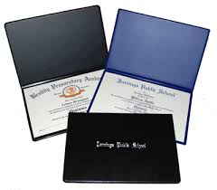 graduation diploma covers charter school diploma printing diploma covers