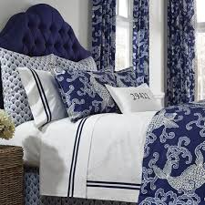 Fish Duvet Cover Legacy Home Koi Indigo Queen Duvet Cover
