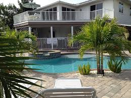 primo pool and palms fort myers beach rentals times square