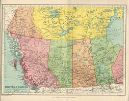 map of canada atlas large map of canada 1922 atlas antique map canadian map map