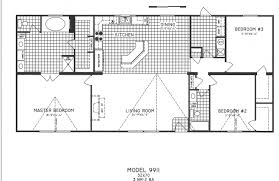 Small 4 Bedroom Floor Plans 3 Bedroom Floor Plan C 9911 Hawks Homes Manufactured