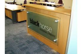 Reception Desk Signs Create Signs Acrylic Signs Shelters And Bollards