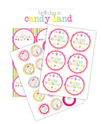candy land birthday cake with free printables bits of sunshine