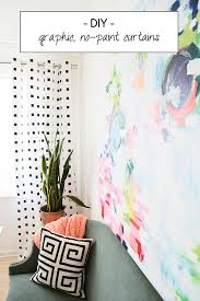 Merete Curtains Ikea Decor No Paint Black And White Diy Curtains Diy Curtains Craft Ideas