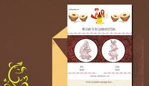 marriage invitation online free wedding india invitation card online invitations