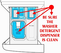 how to fix front load he washer does not dispense detergent