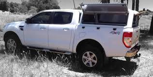 Land Cruiser Aluminium Canopy by Ranger T6 Double Cab Superlite Ford Rhinoman