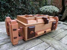 Secret Compartments In Wooden Japanese - secret compartment romanian puzzle box wood book secret box brain