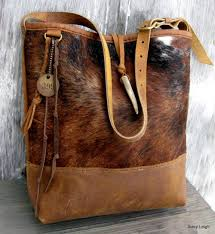 Cowhide Overnight Bag Hair On Cowhide And Rocky Mountain Leather Bucket Bag By Stacy