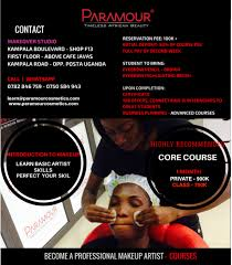 Professional Makeup Artist Classes Paramour Cosmetics Ltd Professional Makeup Artist Courses
