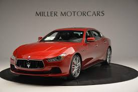 red maserati sedan 2016 maserati ghibli s q4 stock m1525 for sale near westport ct