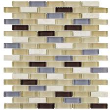 merola tile tessera subway river 11 3 4 in x 11 3 4 in x 8 mm
