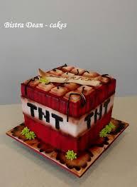 mine craft cakes boooooom a minecraft cake tnt block cake by bistra dean
