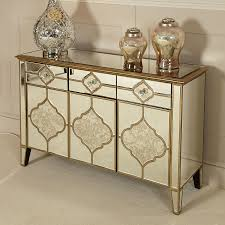 sahara gold mirrored 3 drawer 3 door sideboard picture perfect home