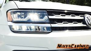 volkswagen atlas interior sunroof 2018 volkswagen atlas headlights youtube
