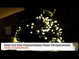 innoo tech solar 200 led warm lights review