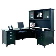 black l shaped desk with hutch black l shaped desk bush l shaped computer desk with hutch in