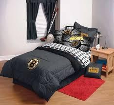 boston bruins bedroom laurens linens boston bruins denim comforter sheet set combo