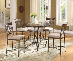 pub dining room sets brown cherry glass pub dining set my furniture place
