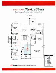 beazer floor plans beazer homes floor plans best of home design gallahans choice unique