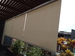 Waterproof Blinds Outdoor Roller Blinds Singapore Blinds