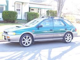 subaru station wagon green 1998 subaru impreza station wagon u2013 pictures information and