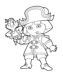 dora coloring pages for toddlers dora coloring pages with friends printable free freecolorngpages co