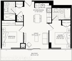 yorkdale floor plan the yorkdale condos by context cartier 2 floorplan 2 bed 2 bath
