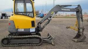 volvo ecr38 compact excavator service parts catalogue manual