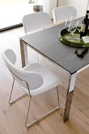 York Dining Chair The Calligaris New York Straight Legged Dining Chair Adds A Touch