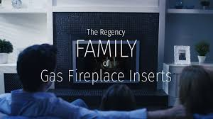 the regency family of gas fireplace inserts youtube