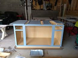 how to make your own kitchen island with cabinets diy kitchen island with breakfast bar
