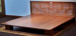 All Wood Bed Frame Solid Wood Bed Frame Sahm One Wooden Bed Platform Atestate