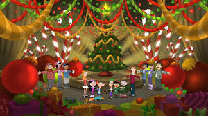 merry christmas phineas ferb wiki fandom