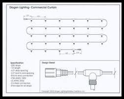 commercial led tree lights custom led icicle light curtain led icicle lights led christmas