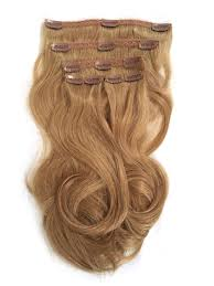 clip on extensions clip in human hair extensions