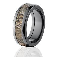 his and camo wedding rings realtree max 4 camo rings camo bands camouflage wedding rings