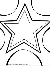 star coloring sheet free download
