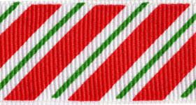 printed grosgrain ribbon wholesale candy stripes grosgrain ribbon in 7 8 inch by the roll