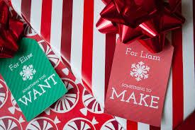 four gift christmas u0027 free printable gift tags want need make