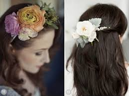 hairstyle for 50 yr old women wedding 50 romantic wedding hairstyles using flowers