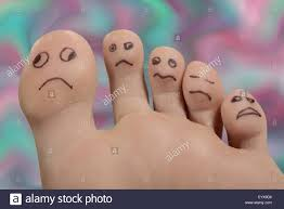 unhappy feet and toes stock photo royalty free image 86015362