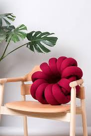 knot pillows red knot pillow knot pillows knot cushions red modern