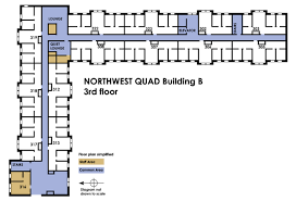 Computer Room Floor Plan University Housing Campus Communities Northwest Quad Information