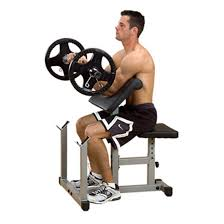 body solid powerline preacher curl bench 116483 at