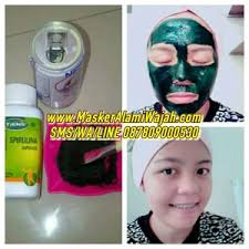Masker Spirulina Per Butir tempat jual masker spirulina di bandung harga murah jual masker